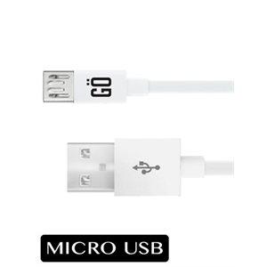 Câble Micro USB 5' Charge et Sync - Blanc