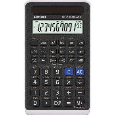 CASIO Calculatrice scientifique FX-260 Solar